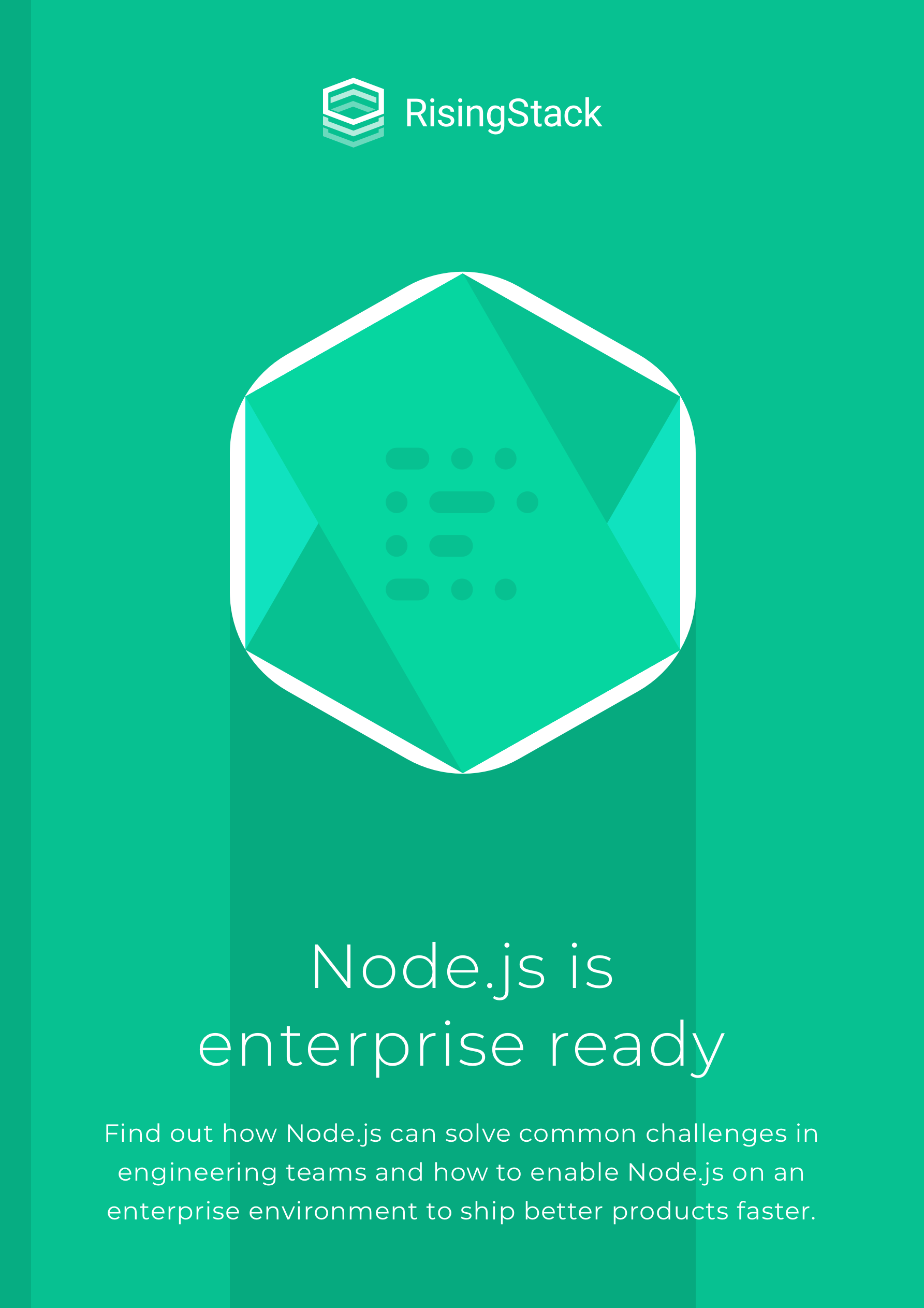 nodejs is enterprise ready book cover